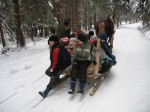 sníh, výprava